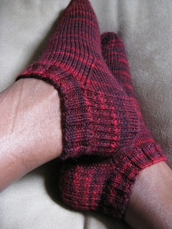 Knitting Stitches Glossary : GRAFTING KNITTING SOCKS Free Knitting Projects