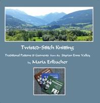 Twisted-Stitch Knitting Bk Cover