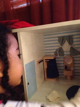 Kira dollhouse close up