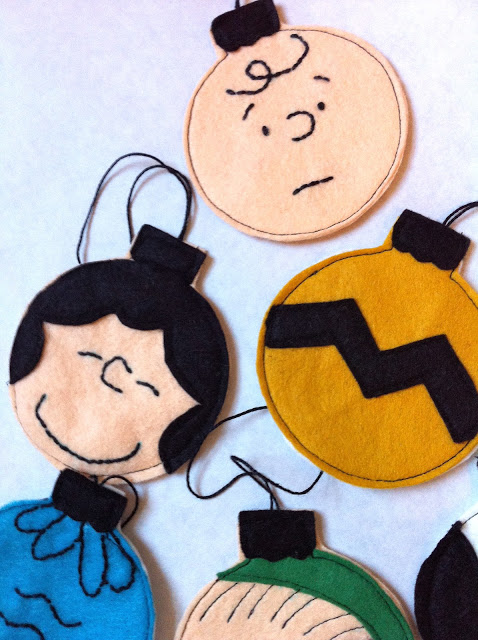 Charlie Brown Ornaments by A Little Gray